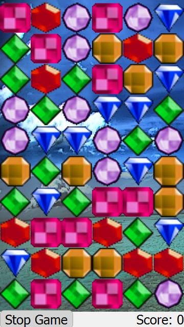 Jewels gameplay